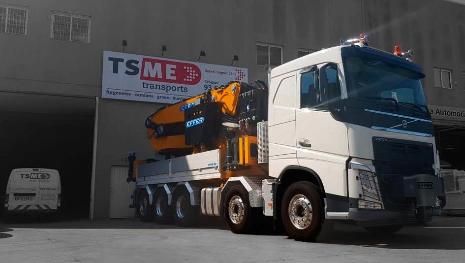 Damos la bienvenida al nuevo gigante en la flota de Grúas TSME